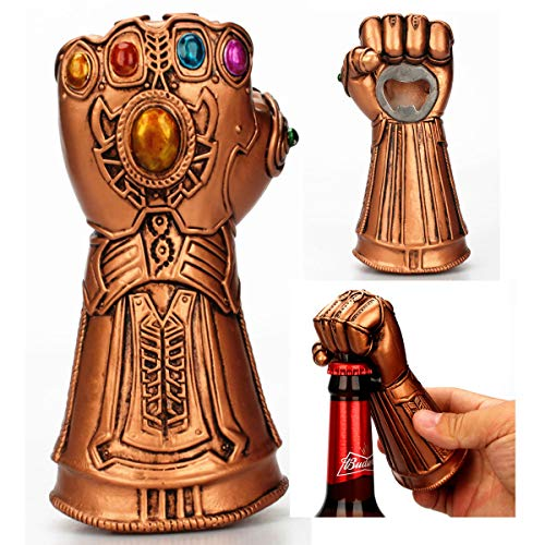 Creative Infinite War Thanos Gloves Fist Opener Beer Bottle Openers Cool Beer Cola Wine Cap Opener Gift for Marvel Avengers Fans
