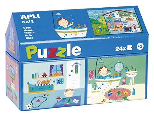 APLI Kids - Puzzle casita Casa