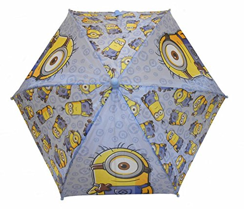 Minions Blauer Regenschirm - Viel Minions