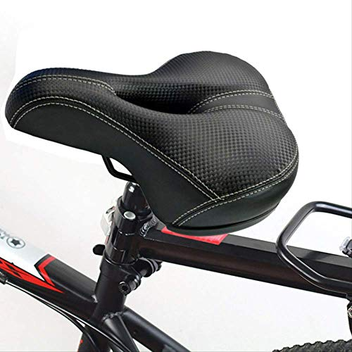 WZ YDTH Bike Saddle, Comfortable Men Women Bicycle Seat Memory Foam Padded Cushion Bicycle Seat Breathable Bicycle Saddle Seat Soft Thickened Mountain