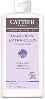 Cattier Paris Shampoo extra delicato con Latte d'Avena, 1 L