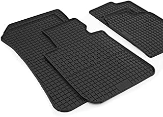kh Teile Gummimatten Original Qualität Gummi Fußmatten 4 teilig schwarz