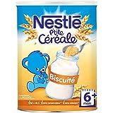 NESTLE P'tite Céréale Biscuité 400g - 6 Mois et +
