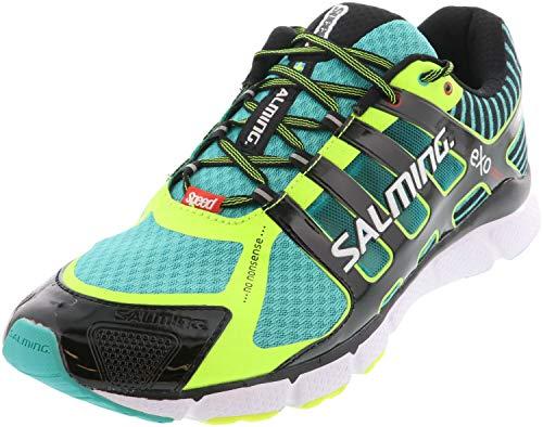 Salming Herren Laufschuh extrem Leichter Wettkampf Schuh Speed 5 Grün - 1287030-6701 (46 EU)