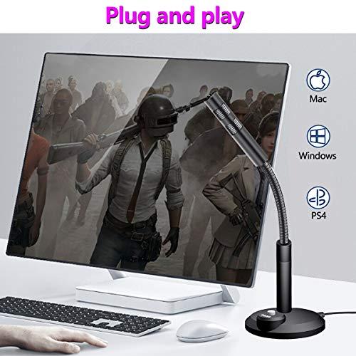USB Mikrofon,PC Laptop Mikrofon Kondensator mikrofone Plug & Play für podcast, studio, streaming, broadcast, youTube, video, recorder