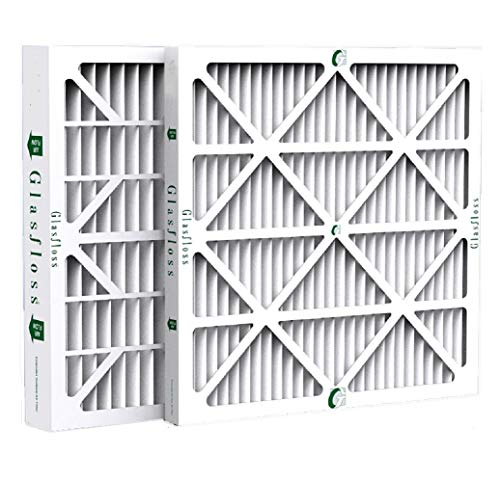 Glasfloss ZL 20x25x4 MERV 10 Pleated 4' Inch AC Furnace Air Filters. Box of 4. Actual Size: 19-1/2 x 24-1/2 x 3-3/4