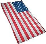 Toallas de Mano, Bandera de Panamá, Estampado de patrón Toalla de baño Suave y Altamente Absorbente para baño, Hotel, Gimnasio y SPA-Color 6-27.5 * 15.7 '