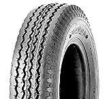 BITS4REASONS K371 Neumático de remolque de 8 pulgadas y tubo interior 4.80/4.00-8 70 M (6PR) Set E TR13 válvula de goma