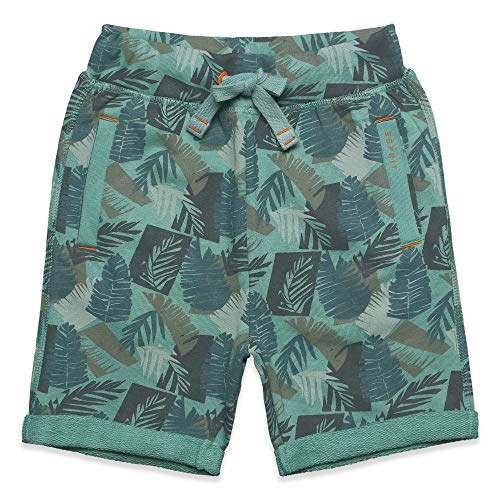 ESPRIT KIDS Jungen Knit Shorts, Grün (Soft Green 520), (Herstellergröße: 92+)
