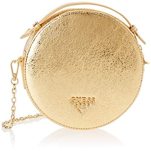 Guess Yo, Sac l'paule Femme, Or (Gold/Gol), 18x18x5.5 Centimeters (W x H x L)