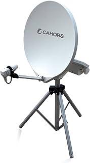 Antena parabólica SMC 55cm automatizada para camping