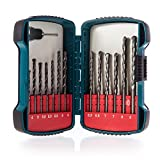 Makita P-51889 Masonry Drillbit Set 13 Piece 4-8.0mm