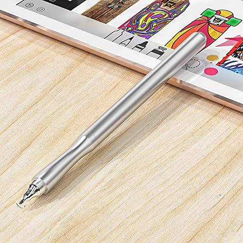 GENG Stylus Pen, Stylus Capacitance Touch Pencil, for Apple Ipad IPhone XS MAX, for Apple IPad Pro 12.9 9.7 2018 Pencil (Color : Silver)