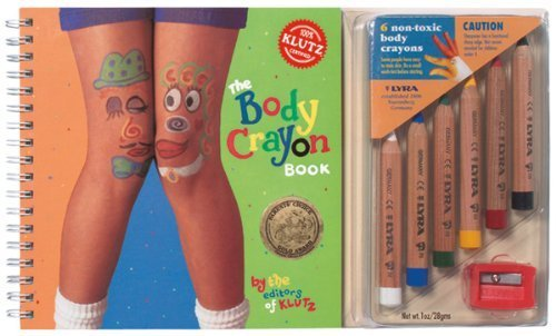 Body Crayon Book by Scholastic(January 1, 2007) Spiral-bound