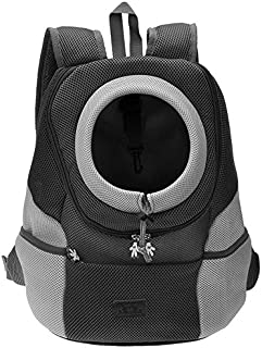 CozyCabin Latest Style Comfortable Dog Cat Pet Carrier Backpack Travel Carrier Bag Front for Small Dogs Puppy Carrier Bike...