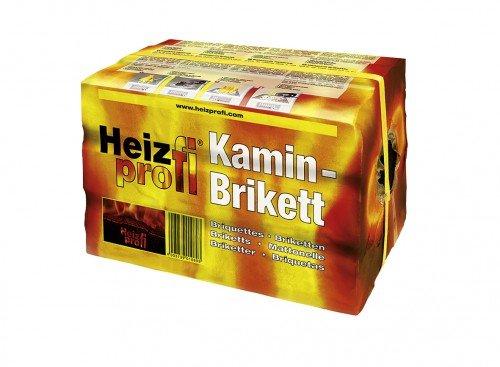 10kg Braunkohle Kaminbriketts 10kg - hoher Energiegehalt dadurch sehr hohe Wärmeabgabe | Heizprofi | Kohle | Ofen | Brikett