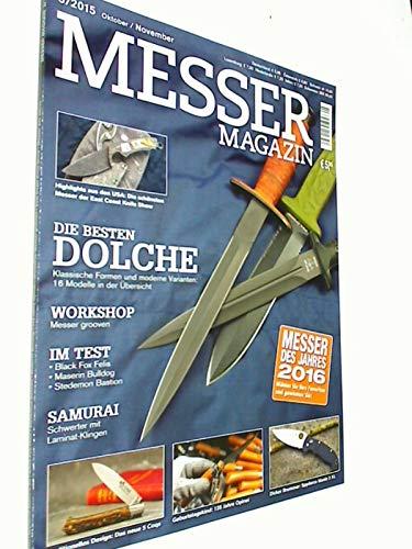 Messer Magazin Nr. 5 / 2015 Test: Black Fox Felis, Maserin Bulldog, Stedemon Bastion. Zeitschrift 4195012305505