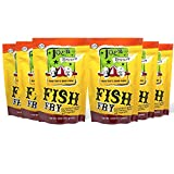 Joe's Gourmet Fish Fry, Seafood Breading Mix, As Seen on Shark Tank, 12 Oz (Original, 6 Pack)