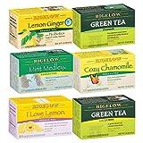 Bigelow Cold and Flu Variety pack of Tea Bags (Pack of 6), 118 Tea Bags Total