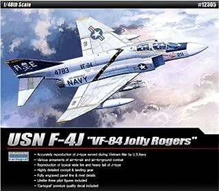 SINNAYEO Academy Plastic Model kit 1/48 USN F-4J VF-84 Jolly Rogers Cartograf Decal 12305