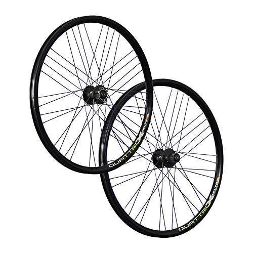 VUELTA 26 pouces ensemble roues vélo Airtec1 Shimano Deore HB FH-M525 Disc noir