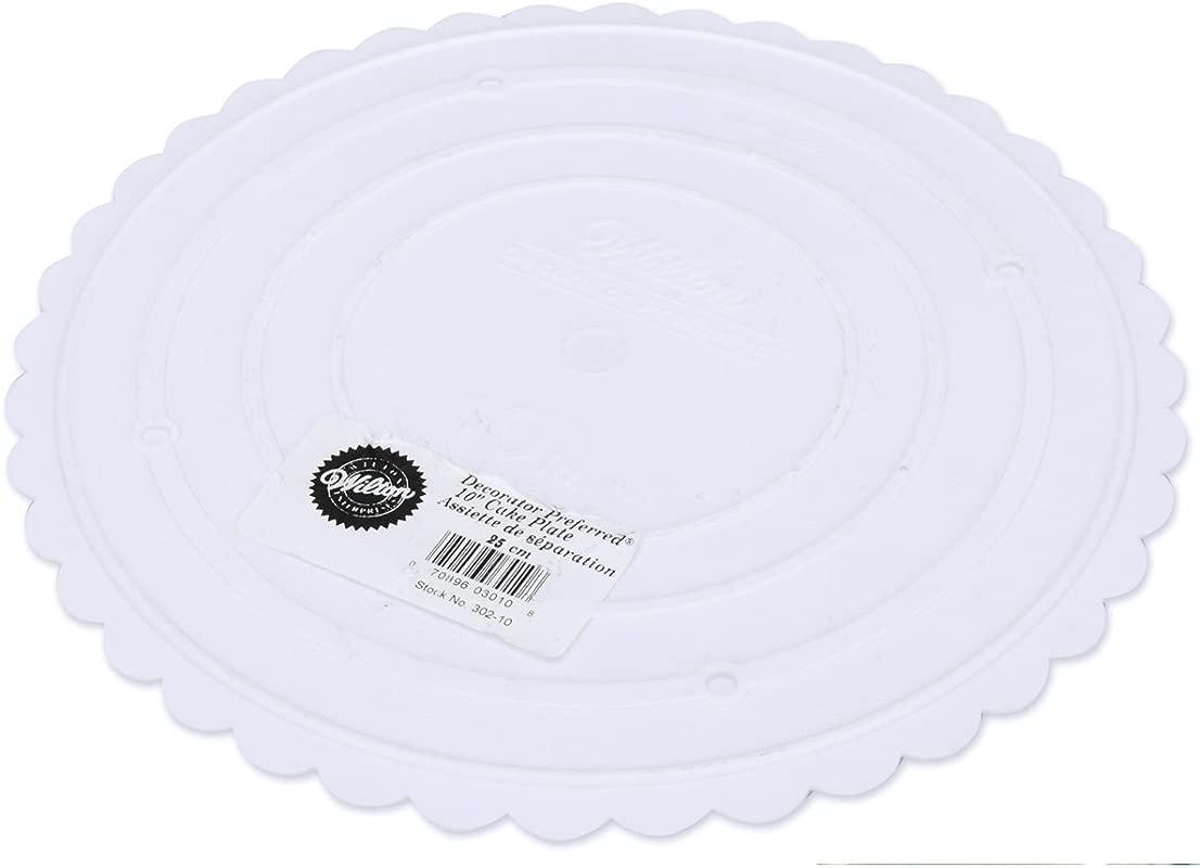 Wilton 302 10 Decorator Preferred Round Separator Plate For Cakes 10 Inch