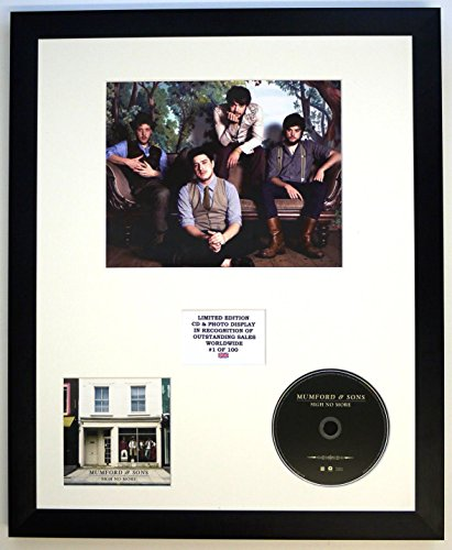 Mumford and SONS/Foto & CD Display LTD. Edition of The Album Sigh NO More