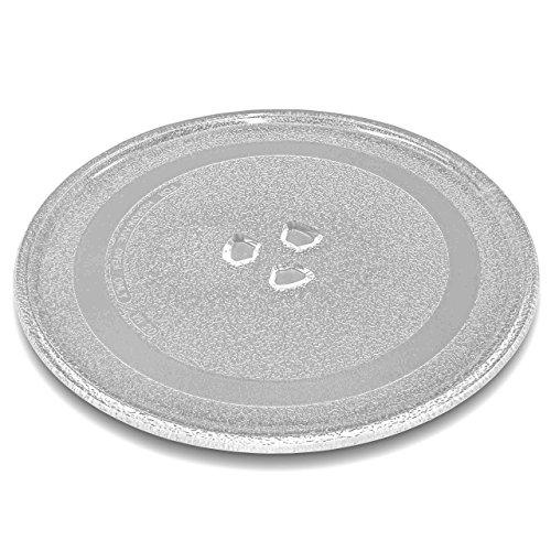 vhbw vetro piatto per forno a microonde piatto girevole da 24.5cm con montatura a Y per forno a microonde Panasonic NN-GD358, NN-GD359, NN-GD368
