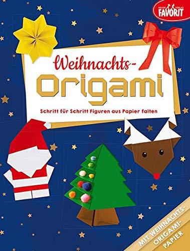 Weihnachts-Origami: Schritt für Schritt Figuren aus Papier falten