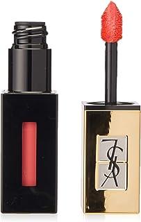 Yves Saint Laurent Vernis A Levres Pop Water Glossy Coral Pink Lip Gloss Stain Eau De Corail
