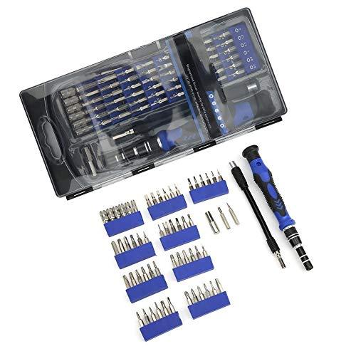 Toasses 56 en 1 Destornillador Multifuncional Set Destornillador Kit de bits para Gafas móviles Reparación de teléfonos