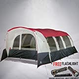 Hazel Creek 16 Person Tunnel Tent Bundled with...