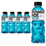 POWERADE ZERO, Zero Calorie Electrolyte Enhanced Sports Drinks, Mixed Berry, 20 fl oz, 8 Pack