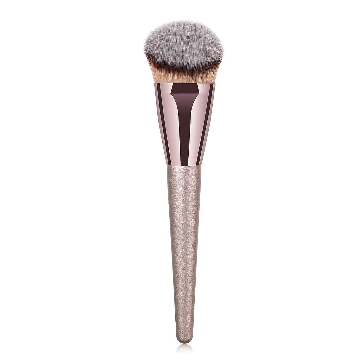 罪交通浜辺Makeup brushes 持ち運びに便利、歌舞伎化粧ブラシ用パウダーブラッシュパウダーフルイド化粧品美容ツールCanonicalシングルブラシ suits (Color : Gray)