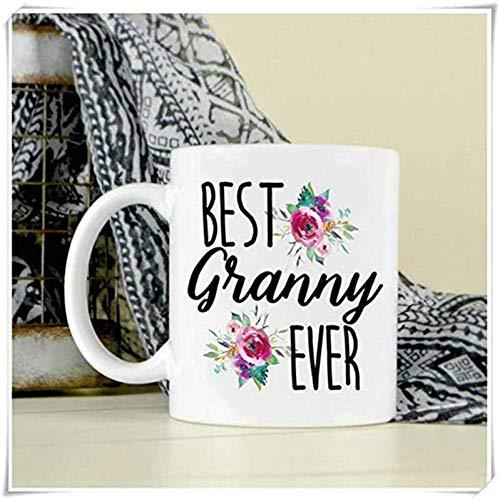 N/ A Taza de café - Regalo de la Abuela Abuela - Día de los Abuelos - Regalo del Nieto -