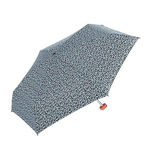 GOTTA Paraguas Plegable de Mujer. Antiviento, Pequeño, Ligero y Manual. Puño Plano...