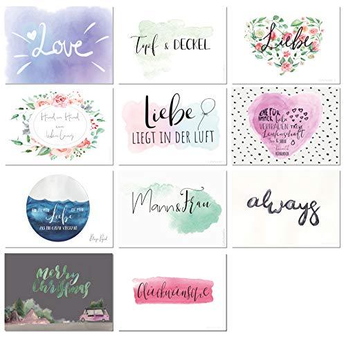 Postkarten Hochzeit | 52 Wochen - 6