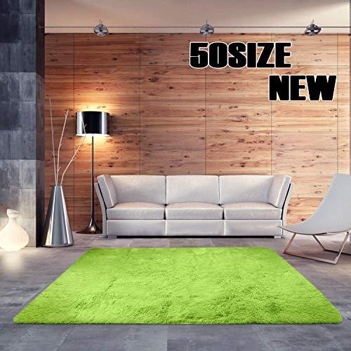 MENGH Bettvorleger Schlafzimmer weich 160x260cm, Schlafzimmer Teppiche Farbecht Pflegeleicht fürWohnzimmerEsszimmerGästezimmer Blau