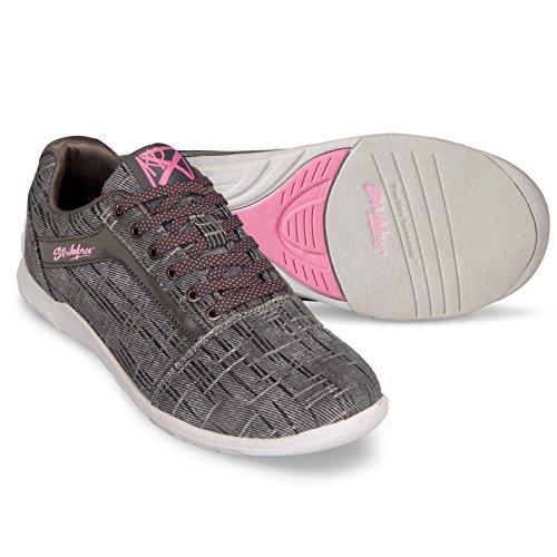 KR Strikeforce KR Nova Lite Ladies Ash/Hot Pink Wide Size 7.5