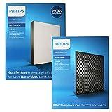 Air Philips AC2887 NanoProtect 2000 Series True HEPA FY 2422+ CARBON FY2420 Set