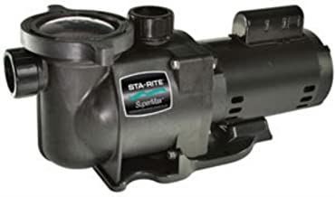 Pentair Sta-Rite N1-3/4A HP SuperMax Standard Efficient Single Speed High Performance Inground Pool Pump, 3/4 HP, 115/230-Volt
