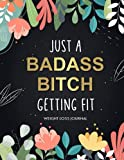 Weight Loss Journal for Women: Cute Food and Fitness Journal for Women | Motivational Diet and Exercise Planner | Daily Workout Program for Women