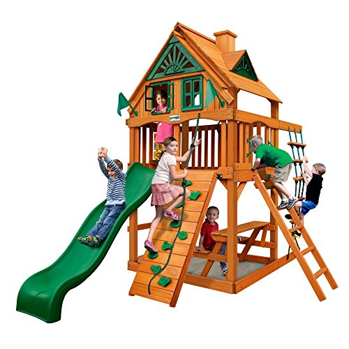 Review Of Gorilla Playsets Chateau Treehouse Tower Swing Set