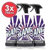 Cillit Bang Lot de 3 nettoyants puissants hygiéniques contre la moisissure 3 x 750ml