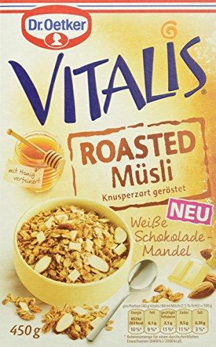 Dr. Oetker Vitalis Roasted Müsli Weiße Schoko, 8er Pack (8 x 450 g)