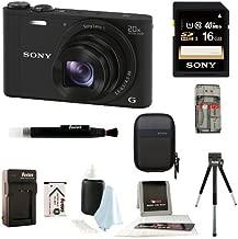 Sony Cybershot WX350 Digital Camera w/ 16GB SD Card Bundle