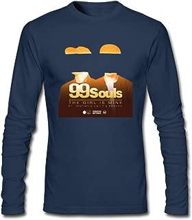 DIY 99 Souls The Girl is Mine Destiny's Child & Brandy Men's Long-Sleeve Fashion Casual Cotton T-Shirt