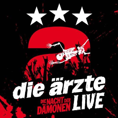 Die Ärzte: Live - Die Nacht der Dämonen (3 CDs) (Audio CD (Standard Version))