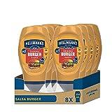 Hellmann's Salsa Burger 250 ml - Paquete de 8 x 250ml - Total: 2000ml