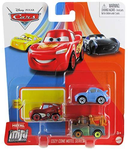 Disney Pixar Cars Metal Mini Racers Cozy Cone Motel Series McQueen Mater Sally